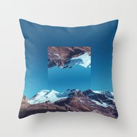 witchoria Throw Pillows featuring Sisyphus, I am.  by witchoria