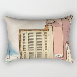 Downfall - Demolition building Rectangular Pillow