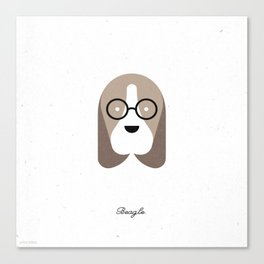 Pedigree: Beagle Canvas Print