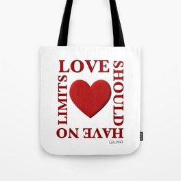 Love Should Have No Limits Tote Bag