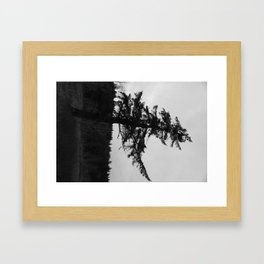Character is like a tree Framed Art Print