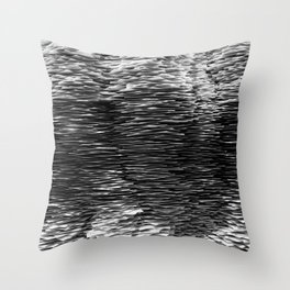Overwhelmed By Paper Throw Pillow
