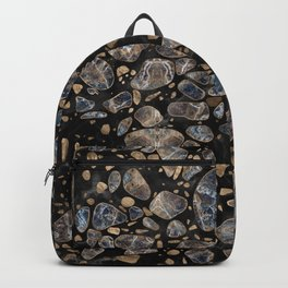 Terrazzo - Marble and Gold Backpack