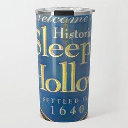Sleepy Hollow Town Sign Travel Mug
