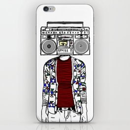 Radio daze iPhone Skin