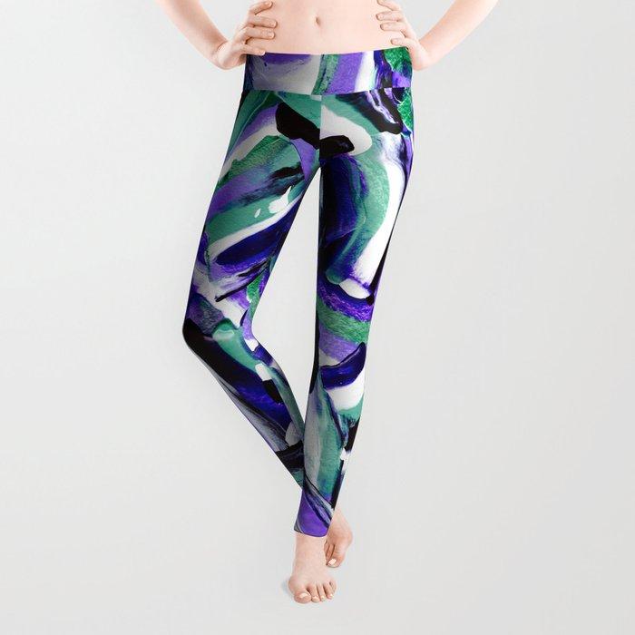 Tara - Abstract Leggings