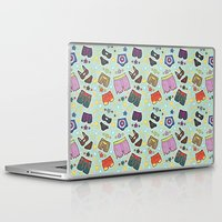 super heroes Laptop & iPad Skins featuring kinky super heroes by Audrey Molinatti