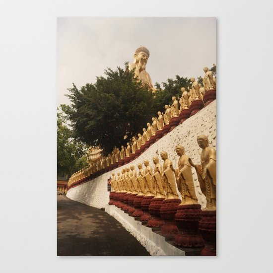 Holy lineup Canvas Print