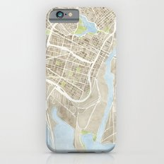 Oakland California Watercolor Map iPhone 6s Slim Case