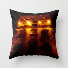 Night Crest 2 Throw Pillow