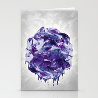 mineral Stationery Cards featuring Mineral by Lindella