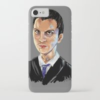 moriarty iPhone & iPod Cases featuring Jim Moriarty by Allie Morris
