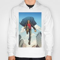 dracula Hoodies featuring Dracula by Eco Comics