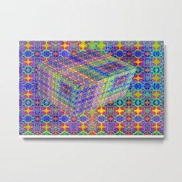 0607 Pattern on the box ... Metal Print