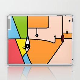 Rostros abstractos Laptop & iPad Skin