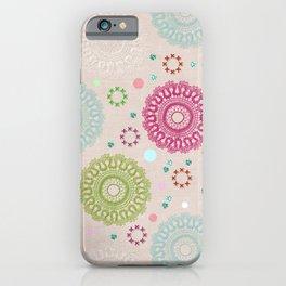Lace&Rosaces iPhone Case