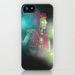 Valor Quawm Issatopode III iPhone Case