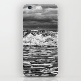 Out in the Wind Out in the Water iPhone Skin