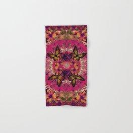 Victoria Mandala Collage Hand & Bath Towel