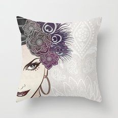 Belly Dance Throw Pillow