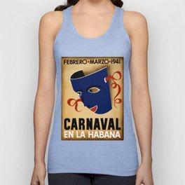 Carnaval en la Habana - Havana Cuba Unisex Tank Top