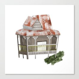 Little Old Abandoned House Canvas Print