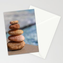 Zen stones Stationery Cards