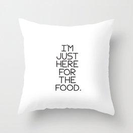 Food Throw Pillow