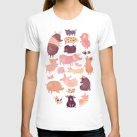 pig T-shirts featuring Pig Pig Pig  by Chuck Groenink
