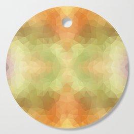 """Pumpkin pancakes"" triangles design Cutting Board"