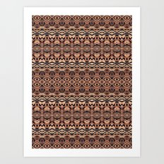 Abstract Pattern 16/2 Art Print