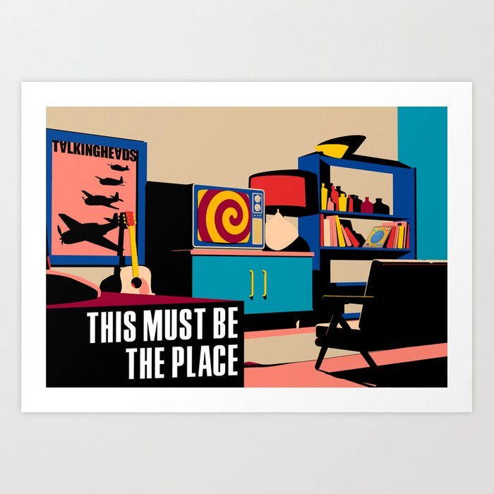 Talking Heads - This Must Be The Place Kunstdrucke
