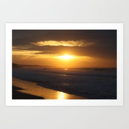 Sunrise over Point Lonsdale Art Print