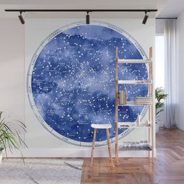 Northern Stars Wall Mural