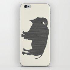 Buffalo Silhouette iPhone & iPod Skin