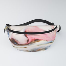 Marbling painting Fanny Pack