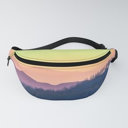 Calm Yellow Sunset Fanny Pack
