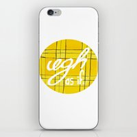 clueless iPhone & iPod Skins featuring Ugh, As If by NoelleGobbi