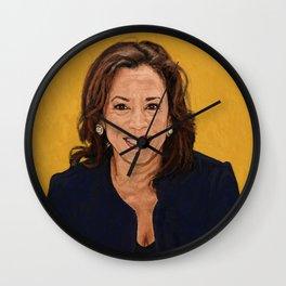 Senator Kamala Harris, Democratic candidate for President 2020 Wall Clock
