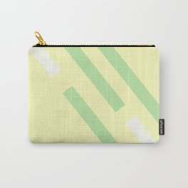 Green yellow white Carry-All Pouch