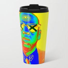 g ol d r e tr op Travel Mug