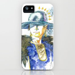 Hatted Woman iPhone Case