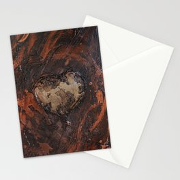 White hearts are the best Stationery Cards