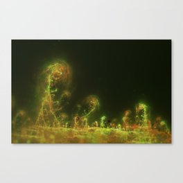 Fractal Spores Canvas Print