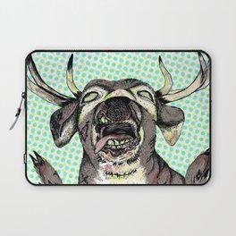 """Dead Alive Deer"" Laptop Sleeve"
