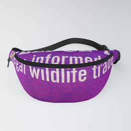 Protect Wildlife Fanny Pack