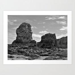 marsden beach Art Print