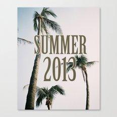summer 2013 Canvas Print