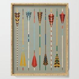 Vintage Arrows Serving Tray
