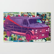A-Team Vandura Pop Candy Canvas Print